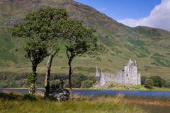 Kilchurn Castle Royalty Free Stock Images