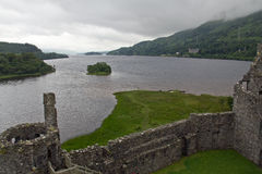 Kilchurn Castle, Loch Awe Royalty Free Stock Images