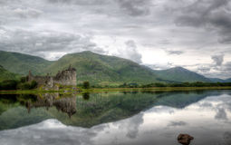 Kilchurn Castle, Loch Awe, Scotland Royalty Free Stock Images