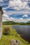 Kilchurn Castle Loch View Stock Photography