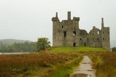Kilchurn Castle panorama, Scotland Royalty Free Stock Image
