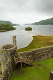 Kilchurn Castle panorama, Scotland Stock Photo
