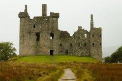 Kilchurn Castle panorama, Scotland Royalty Free Stock Photo