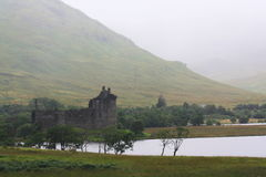 Kilchurn Castle, Scotland Royalty Free Stock Images