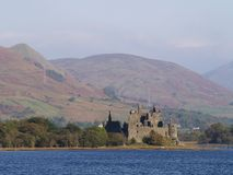 Kilchurn Castle in Scotland Royalty Free Stock Images