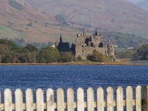 Kilchurn Castle in Scotland Royalty Free Stock Photography