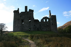 Kilchurn kasztel, Loch respekt, Szkocja Obrazy Royalty Free