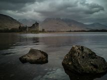 Kilchurn kasztel Szkocja fotografia stock