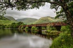 Kilchurn Railway Bridge, Loch Awe  Stock Photography