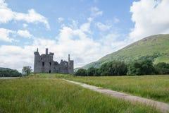 Kilchurn-Schloss, Loch-Ehrfurcht, Argyll und hochgebogene Hinterkante, Schottland Stockfotos