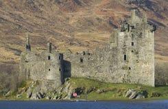 Kilchurn slott, fjordAwe, Argyll & Bute Royaltyfri Foto