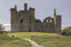 Kilchurn slott i Skottland Fotografering för Bildbyråer