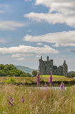Kilchurn slott i Skottland Arkivbild