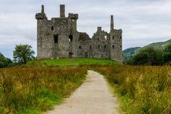 Kilchurn slott, Skottland, UK Arkivfoto