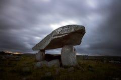 Kilclooney más dolmen Fotografía de archivo