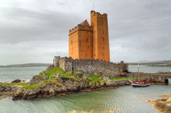 Kilcoe castle, Co. Cork Stock Image