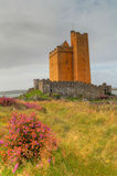 Kilcoe castle in Ireland Stock Photos