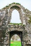 KILCREA, ИРЛАНДИЯ - 28-ОЕ НОЯБРЯ: Friary Kilcrea 28-ого ноября 2012 в Co.Cork, Ирландии Стоковая Фотография RF