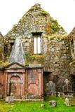 KILCREA, ИРЛАНДИЯ - 28-ОЕ НОЯБРЯ: Friary Kilcrea 28-ого ноября 2012 в Co.Cork, Ирландии Стоковое Изображение RF