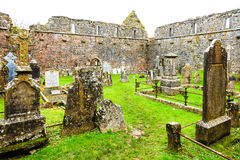 KILCREA, IRLANDA - 28 DE NOVEMBRO: Mosteiro de Kilcrea o 28 de novembro de 2012 em Co.Cork, Irlanda Foto de Stock Royalty Free