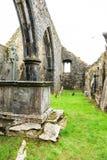 KILCREA, IRLANDA - 28 DE NOVEMBRO: Mosteiro de Kilcrea o 28 de novembro de 2012 no Co Cortiça, Ireland Imagem de Stock