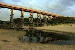 Kilcunda Trestle Bridge, Australia royalty free stock photos