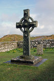 Kildalton Cross, Isle of Islay, Scotland. Ancient Celtic Christian cross in old Kildalton churchyard, Isle of Islay, Scotland stock photos
