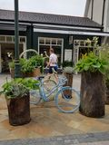 Kildare village. Shopping center in Ireland stock photography