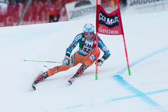 KILDE Aleksander Aamodt (NOR). Alta Badia, ITALY 22 December 2013. KILDE Aleksander Aamodt (NOR)competing in the Audi FIS Alpine Skiing World Cup MEN'S GIANT Stock Photography
