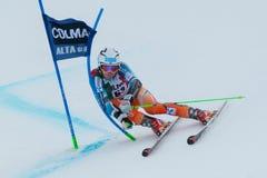 KILDE Aleksander Aamodt (NOR). Alta Badia, ITALY 22 December 2013. KILDE Aleksander Aamodt (NOR)competing in the Audi FIS Alpine Skiing World Cup MEN'S GIANT Royalty Free Stock Image