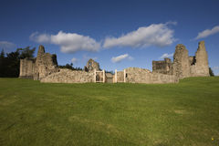 Kildrummy castle ruins landscape Stock Photography