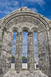 Kilfenora cathedral. Details of the Kilfenora cathedral in Ireland stock photo