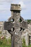 Kilfenora för keltiskt kors domkyrka ståndsmässiga Clare Ireland 2 fotografering för bildbyråer