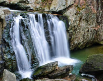 Kilgore在岩石国家公园,马里兰下跌 免版税库存图片