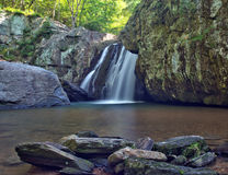 Kilgore Falls in Rocks State Park, Maryland Stock Photos