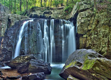 Kilgore Falls in Rocks State Park, Maryland Royalty Free Stock Photography