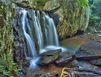 Kilgore Falls in Rocks State Park, Maryland royalty free stock photo