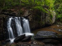Kilgore Falls in Rocks State Park stock images