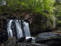 Kilgore Falls in Maryland stock images