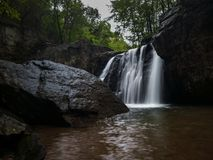 Kilgore Falls in Maryland stock photo