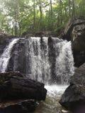 Kilgore nedgångar, vaggar delstatsparken, Maryland Royaltyfri Fotografi