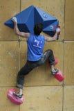Kilian Fischhuber - escalador austríaco Imágenes de archivo libres de regalías