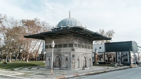 Kilic阿里帕沙清真寺的喷泉在伊斯坦布尔 库存照片