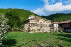 Kilifarevski kloster nära Veliko Tarnovo, Bulgarien Fotografering för Bildbyråer