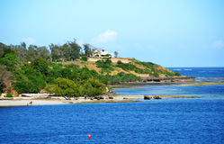 Kilifi coast Royalty Free Stock Photo