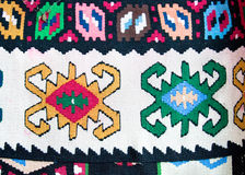 kilim地毯传统羊毛 免版税图库摄影