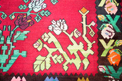 Kilim , traditional wool rug royalty free stock photography