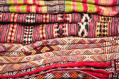 Kilim and wool rugs Stock Photos