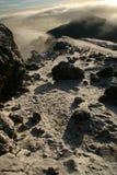 Kilimajaro峰顶,非洲 库存照片