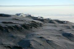 Kilimajaro峰顶,非洲 图库摄影